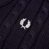 Fred Perry V-Neck Cable Knit K4311 608