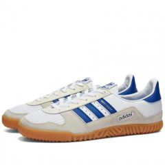 Adidas Indoor Comp White, Royal Blue