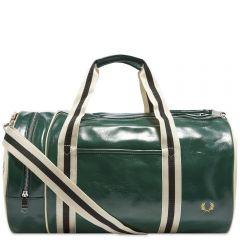 Fred Perry Authentic Classic Barrel Bag Ivy & Ecru