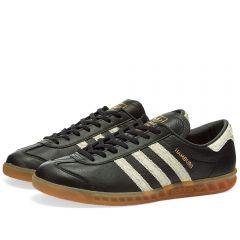 Adidas Hamburg Core Black, White & Lush Red