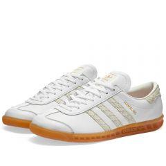 Adidas Hamburg White, Silver Met & Grey