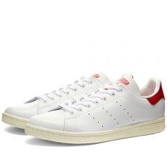 Adidas Stan Smith White, Off White & Scarlet