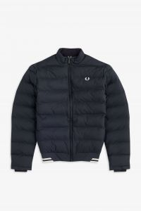 Fred Perry Authentic Padded  Jacket Black