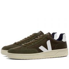 Veja V-12 Mesh Sneaker Olive & White