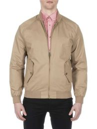 Ben Sherman Harrington Jacket Sand