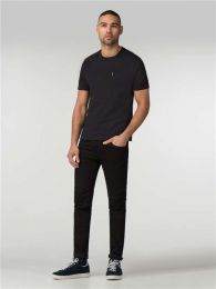 Ben Sherman Plain Pocket Crew Tee Black