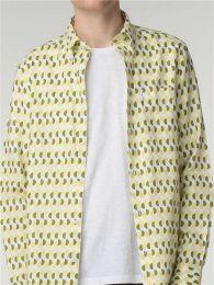 Ben Sherman Short Sleeve Hove Archive Shirt Green