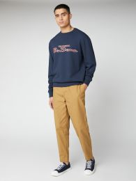 Ben Sherman Signature Logo Sweatshirt Dark Navy