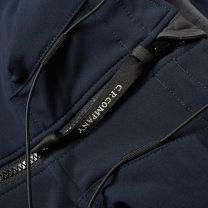 C.P. Company Soft Shell Hooded Jacket Navy
