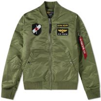 Alpha Industries MA-1 VF Custom Jacket Sage Green