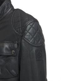 Belstaff Leather jacket Fieldbrook 2.0 Black