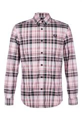 Fred Perry Check Shirt Dusty & Pink
