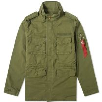 Alpha Industries Huntington M-65 Jacket Olive