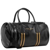 Fred Perry Tipped Barrell Bag Black