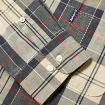 Barbour Sandwood Tartan Shirt Stone