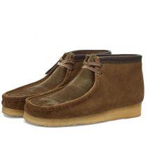 Clarks Originals Wallabee Boot Olive Interest