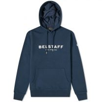 Belstaff 1924 Logo Crew Sweat Navy & Off White
