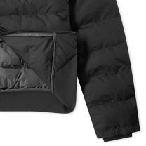 Fred Perry Authentic Padded Hooded Jacket Black