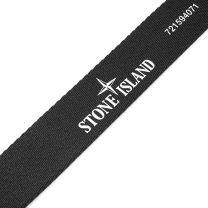 Stone Island Canvas Utility Tape Belt Black