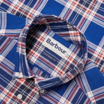 Barbour Highland Check Shirt Navy