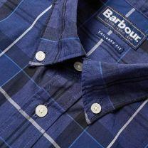 Barbour Sandwood Tartan Shirt Inky Blue