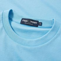 Fred Perry Sports Authentic Embroidered Tee Sky