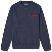 Barbour Preppy Crew Sweat Navy