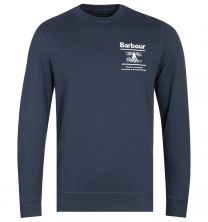 Barbour Reed Crew Sweater Navy