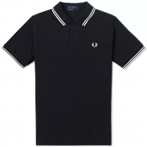 Fred Perry Shirt Twin Tipped M12 804