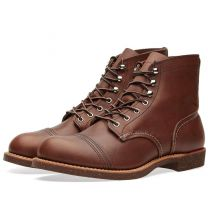 """Red Wing 8111 Heritage 6"""" Iron Ranger Boot Amber Harness"""
