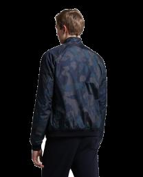 Woolrich Reversible Shore Jacket Melton Blue Camouflage