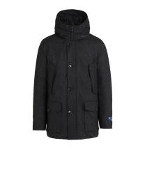 Woolrich LP Mountain Parka Charcoal Tweed
