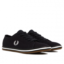 Fred Perry Kingston Twill White & Navy