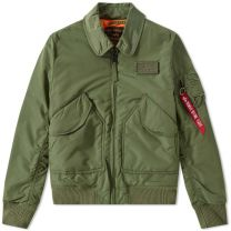 Alpha Industries Flight Jacket CWU VF TT Sage Green