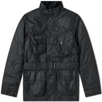 Barbour International Coloured Sl International Wax Jacket Black