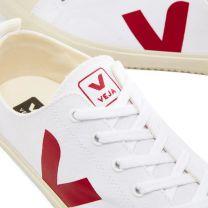 Veja Nova Low Canvas Sneaker White & Marsala
