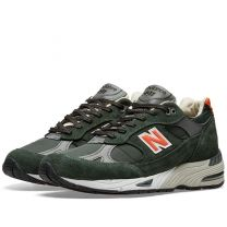 New Balance M991TNF - Made in England Green & Orange