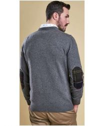Barbour Harrow V-Neck Grey Marl