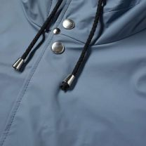 Stutterheim Stockholm Lightweight Raincoat Ash Blue