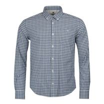 Barbour International Steve McQueen Gingham Antique Shirt White