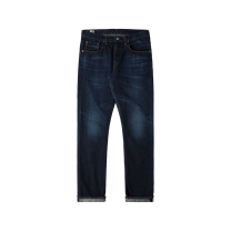 Edwin Regular Tapered Jeans Blue Dark Used L32