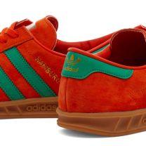 Adidas Hamburg Orange ,Green