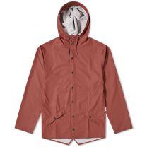 Rains Long Jacket Maroon