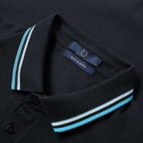 Fred Perry Made in Japan Polo Navy, Neon Aster & Neon Saxe
