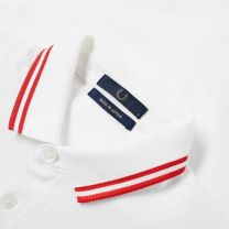 Fred Perry Made in Japan Polo White & Red