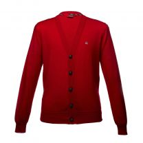 Merc Harris Cardigan Blazer Red