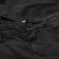 C.P. Company Garment Dyed Lens Pocket Cargo Pants Black