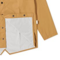 Rains Long Jacket Khaki