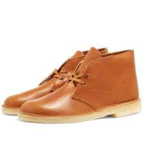 Clarks Originals Desert Boot Dark Tan Leather