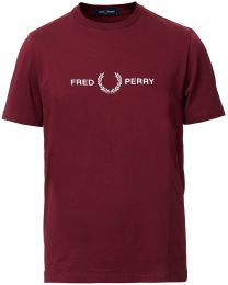 Fred Perry Sports Authentic Embroidered Tee Port